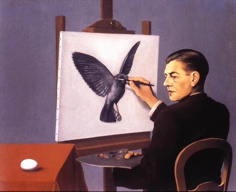 Art history news magritte the mystery of the ordinary for Rene magritte le faux miroir